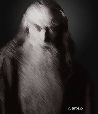Painting - Gandalf The Wizard by George Pedro