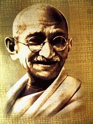 Gandhiji Art Print