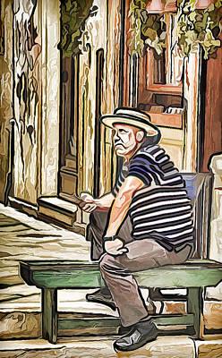 Gandolier Art Print by Yury Malkov