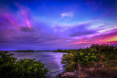 Gulf Front Pool Photograph - Gandy Lagoon 2 by Marvin Spates