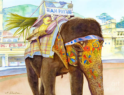 Thailand Painting - Ganesh by Amanda Schuster