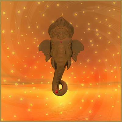 Ganesh II Art Print