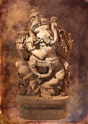 Photograph - Ganesh by Ram Vasudev