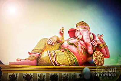 Parvati Photograph - Ganesh by Suriya Chuesuwan