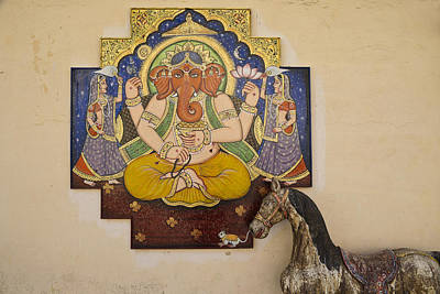 Photograph - Ganesh The Elephant God by Michele Burgess