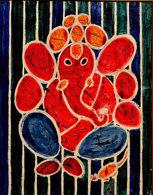 Ganesha-3 Art Print