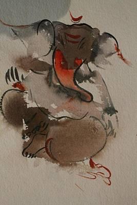 Etc. Painting - Ganesha 876 by Sir