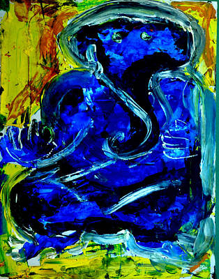 Painting - Ganesha-a14 by Anand Swaroop Manchiraju