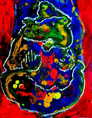 Painting - Ganesha-a17 by Anand Swaroop Manchiraju