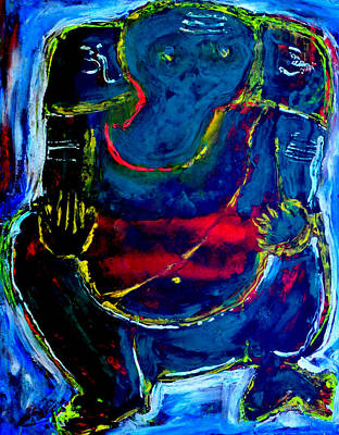 Painting - Ganesha-a18 by Anand Swaroop Manchiraju