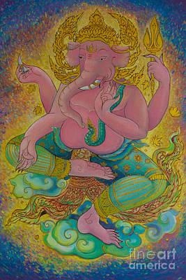 Diwali Photograph - Ganesha God Of Hindu by Tosporn Preede