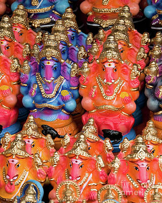 Photograph - Ganesha Plastiki 02 by Rick Piper Photography
