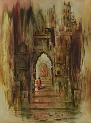 Ganesha Swaroop Art Print by Durshit Bhaskar