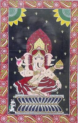 Ganesha The Hindu God Art Print by Prasida Yerra