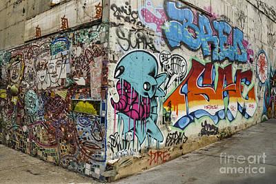 Nyc Subway Mosaic Photograph - Gang Banger  by Gary Keesler