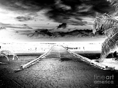 Gangplank Of Perfection Infrared Extreme Art Print by Heather Kirk