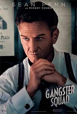 Gangster Squad Penn Art Print
