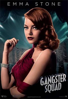 Ryan Gosling Photograph - Gangster Squad  Stone by Movie Poster Prints