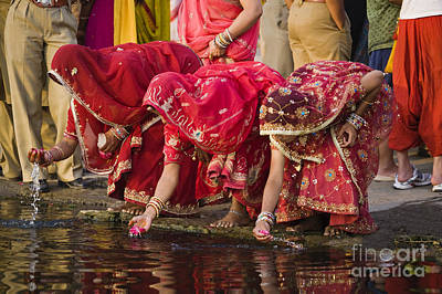 Photograph - Gangur Festival - Udaipur India by Craig Lovell