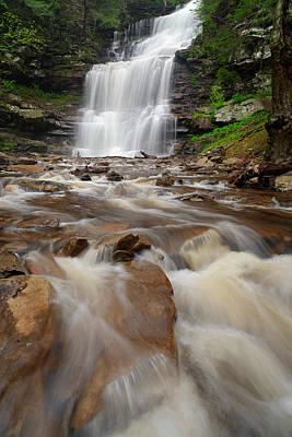 Photograph - Ganoga Falls by Bernard Chen