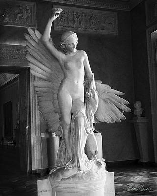 Photograph - Ganymede And The Angel by Diana Haronis