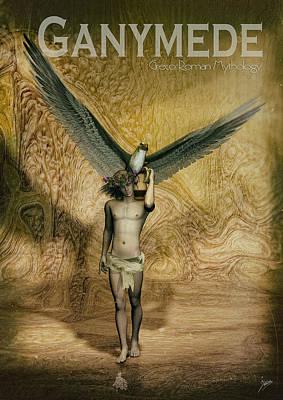 Buying Art Online Digital Art - Ganymede by Quim Abella