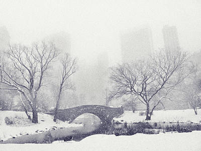 Photograph - Gapstow Bridge In Winter by Jessica Jenney