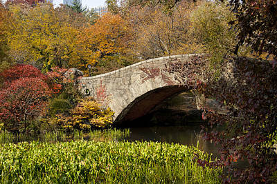 Photograph - Gapstow Bridge by Michael Dorn
