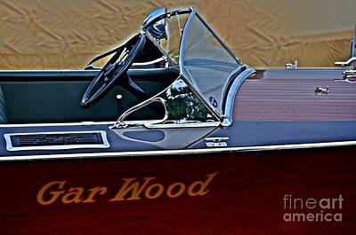 Photograph - Gar Wood Boat by Randy J Heath