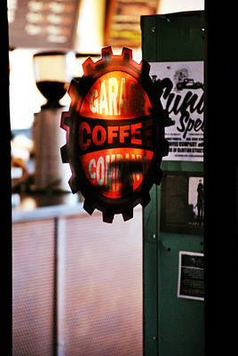 Garage Coffee Company Art Print by Chastity Hoff