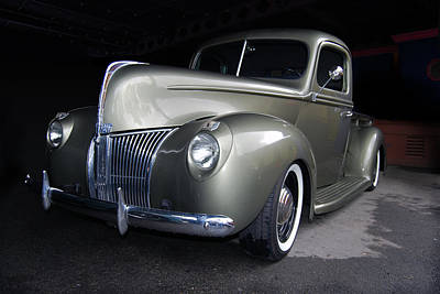 39 Ford Photograph - Garaged by Bill Dutting
