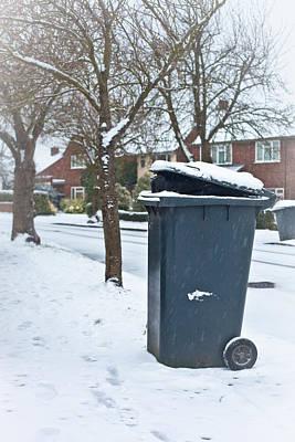 Garbage Bin  Art Print by Tom Gowanlock