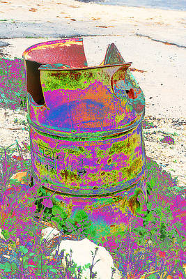 Photograph - Garbage Bins by Doc Braham