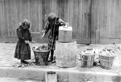 The Gleaners Photograph - Garbage Gleaners, 1910 by Granger