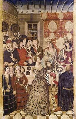 Banquet Photograph - Garcia De Benabarre, Pedro  -1496 by Everett