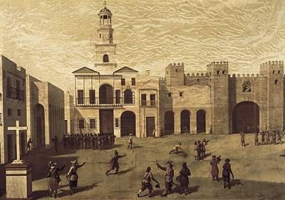 Dio Photograph - Garcia, J. 16th Century. View Of San by Everett