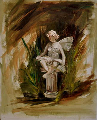 Painting - Garden Angel One by Lindsay Frost