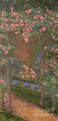 Painting - Garden Arbor  By Tanja Beaver by Tanja Beaver