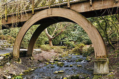 Photograph - Garden Arch by Wes and Dotty Weber