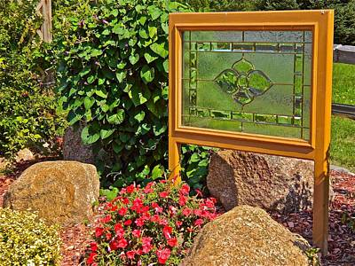 Photograph - Garden Art by Randy Rosenberger