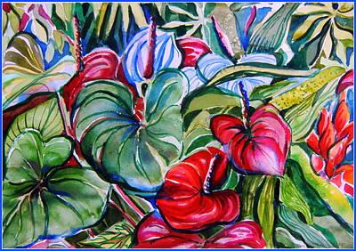 Garden Candles Original by Mindy Newman