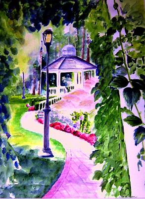 Garden City Gazebo Original by Sandy Ryan