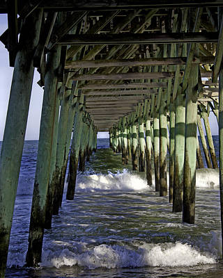 Garden City Pier Sc Photograph By Rose Fleming