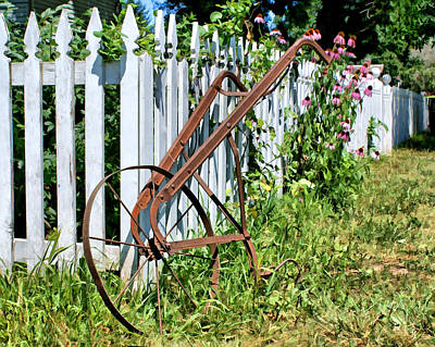 Photograph - Garden Cultivator by Nikolyn McDonald