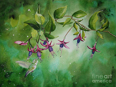 Painting - Garden Enchantment by Melanie Pruitt