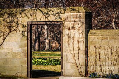 Photograph - Garden Entry by Grace Grogan