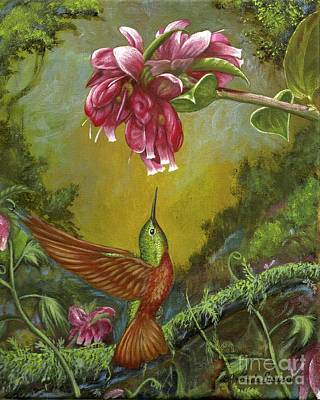 Painting - Garden Fairy 1 by Amanda Hukill