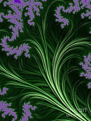 Digital Art - Garden Fantasy  by Heidi Smith