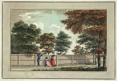 Etc. Photograph - Garden Fence by British Library