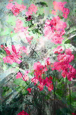 Painting - Garden Floral Light by John Fish